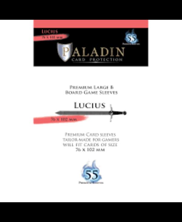 Paladin-Lucius «Premium Large B» 76mm X 102mm / 55 Sleeves