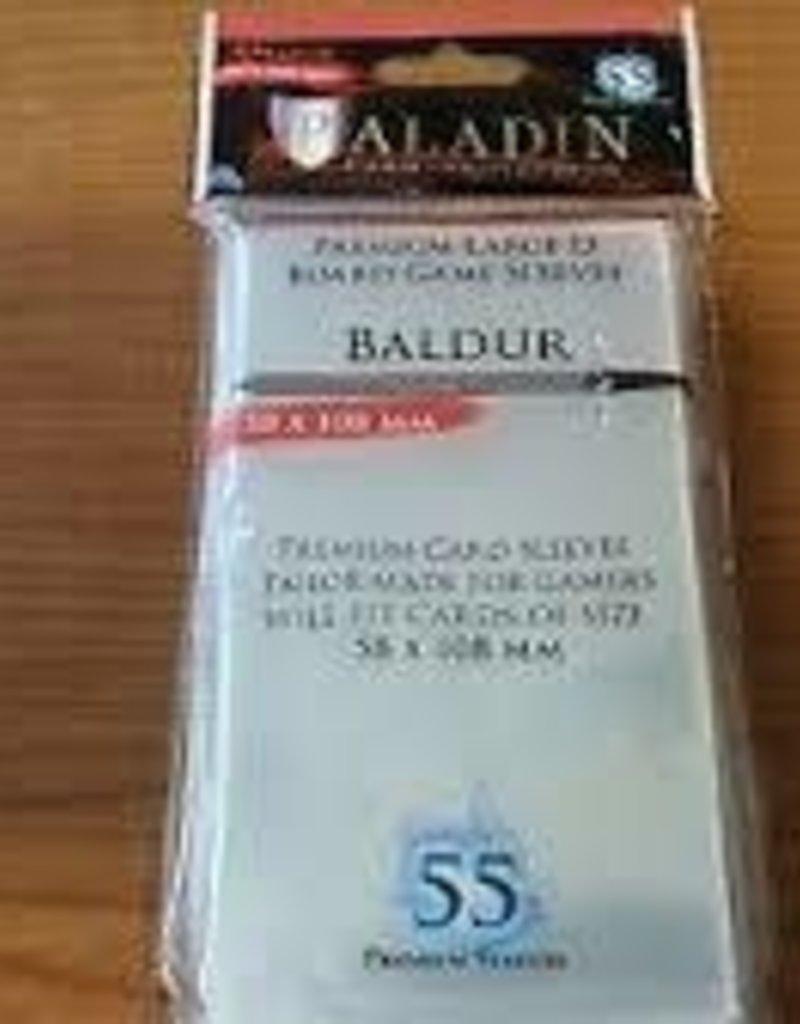 NSKN Games 850 Sleeve Baldur «Large D» 58mm X 108mm / 55 Paladin