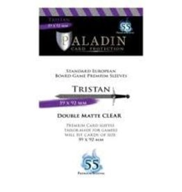 NSKN Games Paladin-Tristan «Standard European» 59mm X 92mm / 55 Sleeves