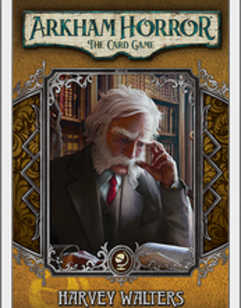 Fantasy Flight Games Arkham Horror LCG: Ext. Harvey Walters Investigator Deck (EN)