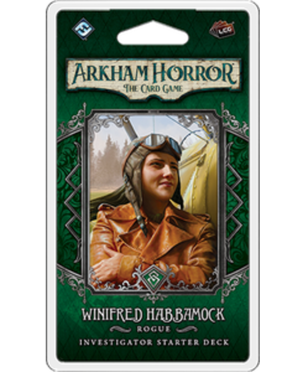 Arkham Horror LCG: Ext. Winifred Habbamock Investigator Deck (EN)