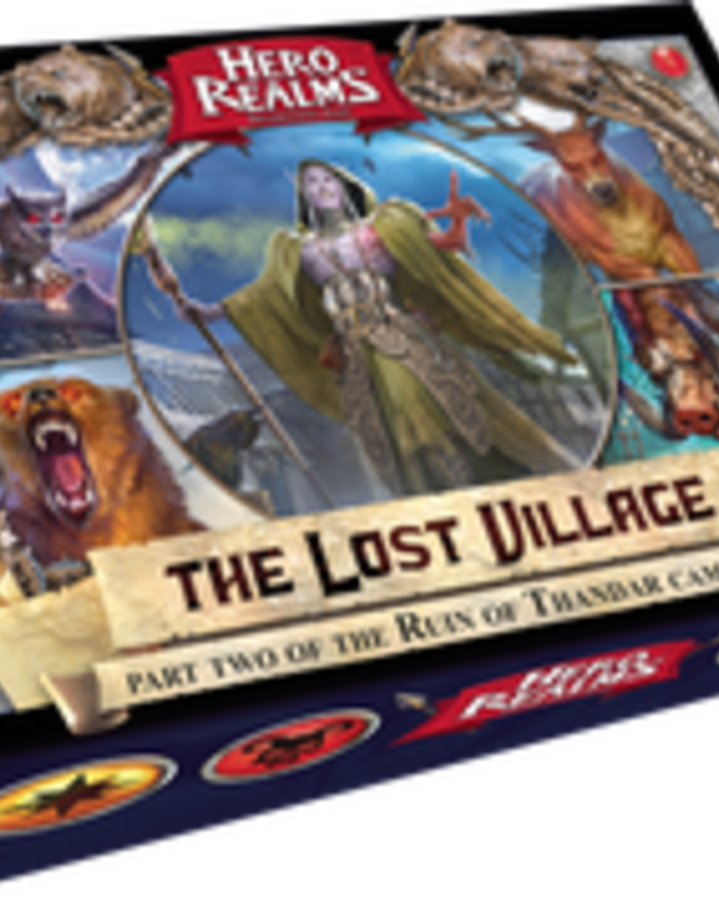 White Wizard Games Hero Realms: Ruin Of Thandar: Ext. 2 The Lost Village (EN)