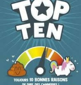 Cocktail Games Top Ten (FR)