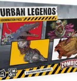 CMON Limited Précommande: Zombicide: 2nd Edition: Ext. Urban Legends Abomination Pack (EN) Q1 2021