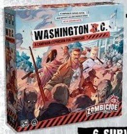 CMON Limited Précommande: Zombicide: 2nd Edition: Ext.  Washington  Z.C. (EN) Q1 2021