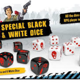 CMON Limited Précommande: Zombicide: 2nd Edition: Special Black And White Dice (EN) Q2 2021