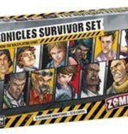 CMON Limited Précommande: Zombicide: 2nd Edition: Chronicles Survivors Set (EN) Q2 2021