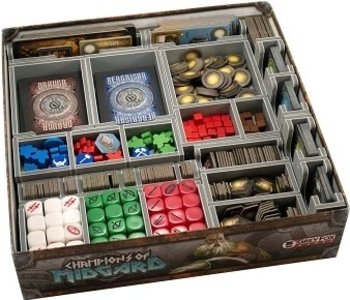 Folded Space: Champions  Of Midgard And Dark Mntns