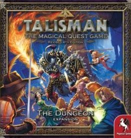Fantasy Flight Games Précommande: Talisman: Ext. Dungeon (FR) Q4 2020