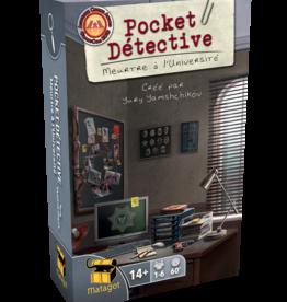 Matagot Précommande: Pocket Détective: Meurtre À L'Université (FR) Q4 2020