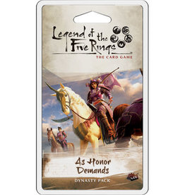 Fantasy Flight Games Legend of the Five Rings LCG: Ext. As Honor Demands Dynasty Pack (EN)