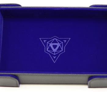 Die Hard Dice: Tray Rectangle Magnetique: Bleu