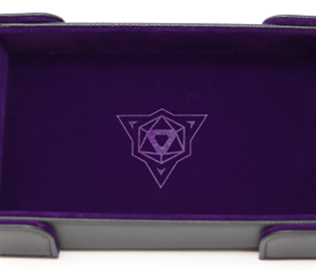Die Hard Dice: Tray Rectangle Magnetique: Mauve