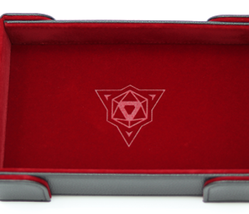 Die Hard Dice: Tray Rectangle Magnetique: Rouge