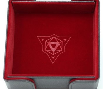 Die Hard Dice: Tray Carré Magnetique: Rouge