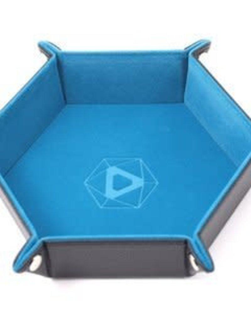Die Hard Die Hard Dice: Tray Hexagone: Bleu Sarcelle (Commande Spéciale)