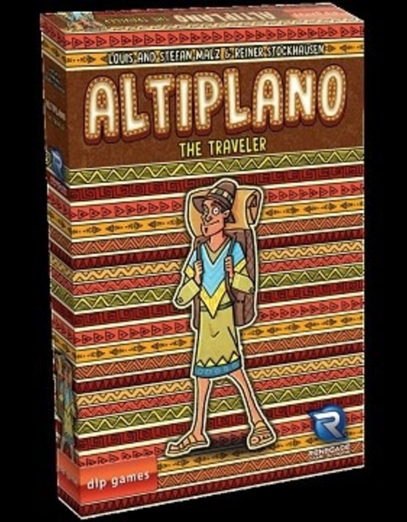 Renegade Game Studios Altiplano Ext. The Traveler (EN) (commande Spéciale)