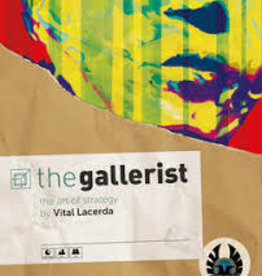 Eagle-Gryphon Games The Gallerist  W/Expansions And Scoring Pad (EN)