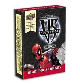 Upper Deck VS System 2PCG: Deadpool & Friends (EN) (Commande Spéciale)