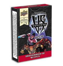 Upper Deck VS System 2PCG: Brotherhood Of Mutants (EN) (Commande Spéciale)