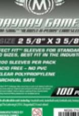Mayday Games Sleeves - MDG-7105 «Presqu'une Cenne» 66.5mm X 92mm / 100
