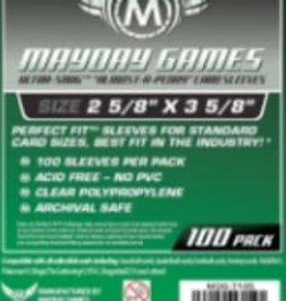 Mayday Games Sleeves - MDG-7105 «Presqu'une Cenne» 66.5mm X 92mm / 100