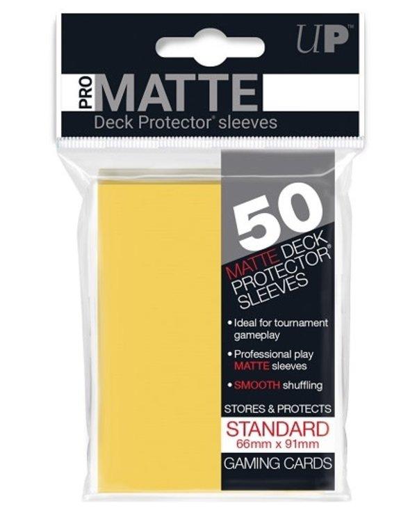 84186 Sleeve Matte Yellow «Standard» 66 mm X 91 mm Premium / 50