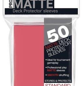 Ultra pro 84506 Sleeve Matte Fuchia «Standard» 66 mm X 91 mm Premium / 50
