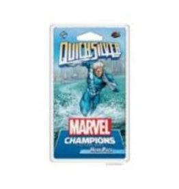 Fantasy Flight Games Précommande: Marvel Champions: LCG: Quicksilver Hero Pack (EN) Déc 2020