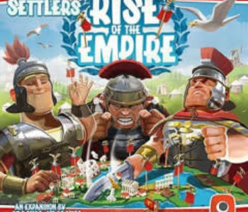 Imperial Settlers: Ext. Rise Of The Empire (EN) (boite endommagée)