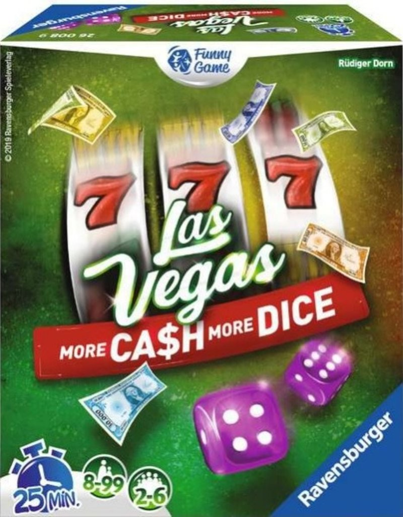 Ravensburger Las Vegas: More Cash More Dice (FR)