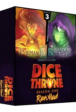 Roxley Dice Throne Season One Rerolled Box 3  Pyro vs Shadow Thief (EN)