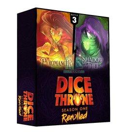 Roxley Précommande: Dice Throne Season1 Rerolled Box 3  Pyro vs Shadow Thief (EN) Fév. 2021
