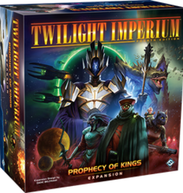 Fantasy Flight Games Twilight Imperium: Ext. Prophecy Of Kings (FR)