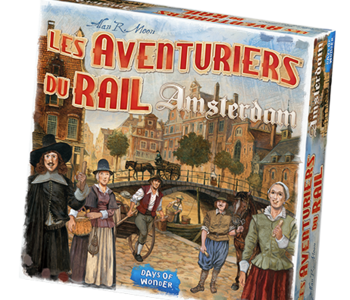 Les Aventuriers Du Rail: Amsterdam (FR)