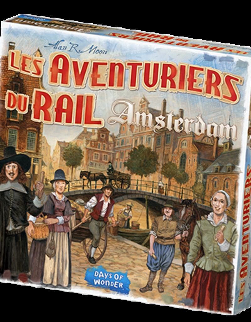 Days of Wonder Les Aventuriers Du Rail: Amsterdam (FR)