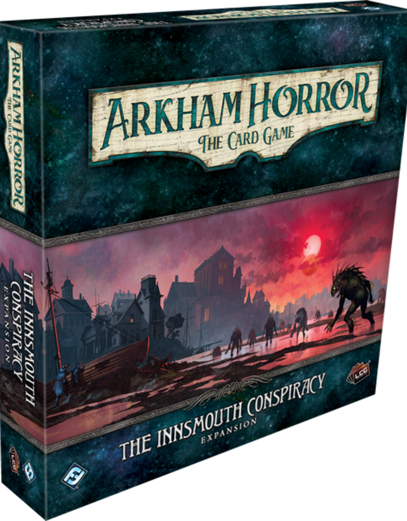 Fantasy Flight Games Arkham Horror LCG: Ext. The Innsmouth Conspiracy Deluxe (EN)