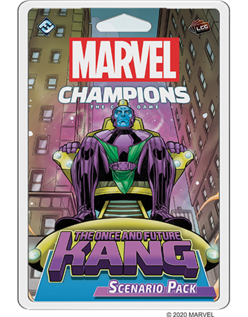 Fantasy Flight Games Marvel Champions LCG: Ext. The Once And Future: Kang Scenario Pack (EN)