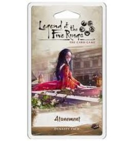 Fantasy Flight Games Legend of the Five Rings LCG: Ext. Atonement Dynasty Pack (EN)