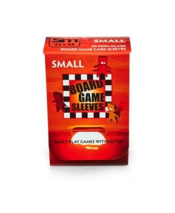 BGS-10424 « Small» 44mm X 68mm Non-Glare / 50 Board Game Sleeves