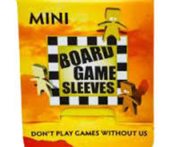 BGS-10425 « Mini» 41mm X 63mm Non-Glare / 50 Board Game Sleeves