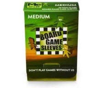 BGS-10423  « Medium» 57mm X 89mm Non-Glare / 50 Board Game Sleeves