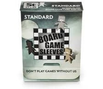 BGS-10426 « Standard» 63mm X 88mm Non-Glare / 50 Board Game Sleeves