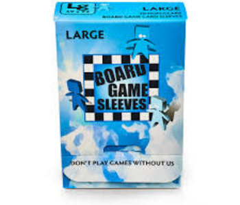 BGS-10422 «Large» 59mm X 92mm Non-Glare / 50 Board Game Sleeves