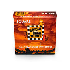 BGS-10429 «Square» 70mm X 70mm Non-Glare / 50 Board Game Sleeves
