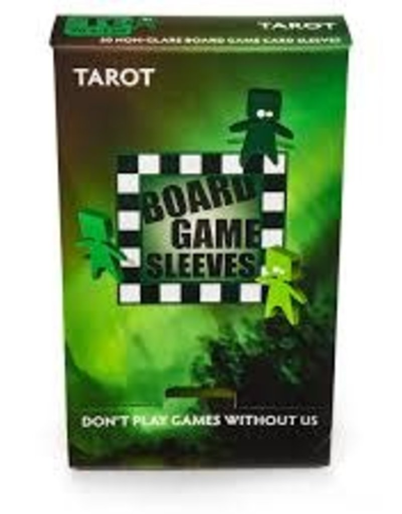 Arcane Tinmen 10430 Sleeve «Tarot» 70mm X 120mm Non-Glare / 50 Board Game Sleeves