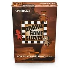 BGS-10428 «Oversize» 79mm X 120mm Non-Glare / 50 Board Game Sleeves