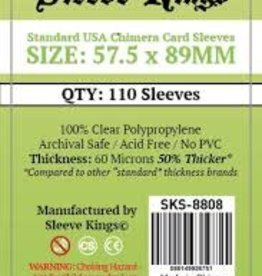 Sleeve Kings SKS-8808 «Usa Chimera» 57.5mm X 89mm /110 Kings - Sleeve
