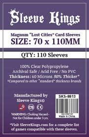 SKS-8813 «Lost Cities» 70mm X 110mm /110 Kings - Sleeve