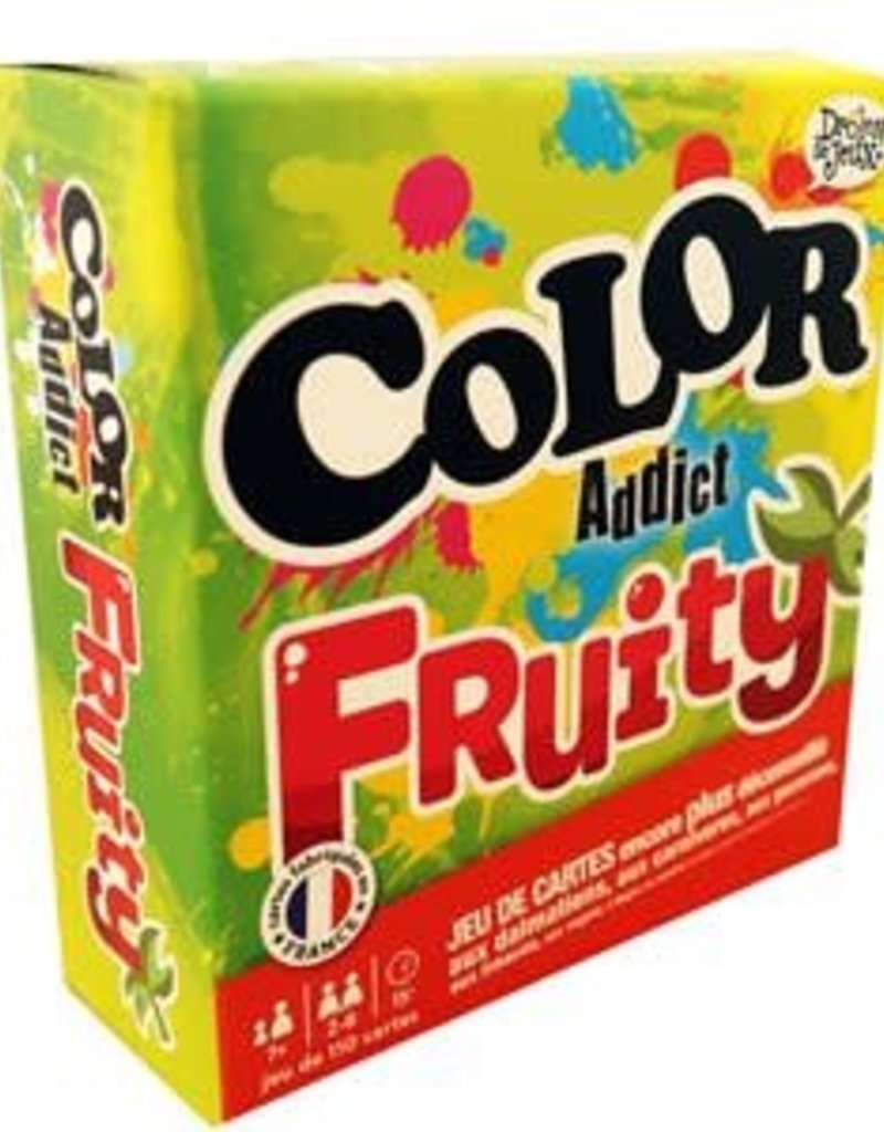 France Cartes Color Addict: Fruity (FR) (Commande spéciale)